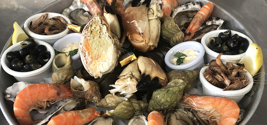Plateau de fruits mer Andernos Chez Eliette