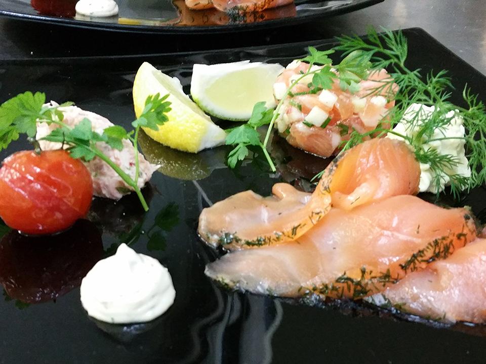 Restaurant poisson fruit mer Andernos Chez Eliette